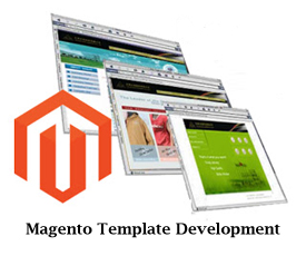 magento template development ecommerce business magento template